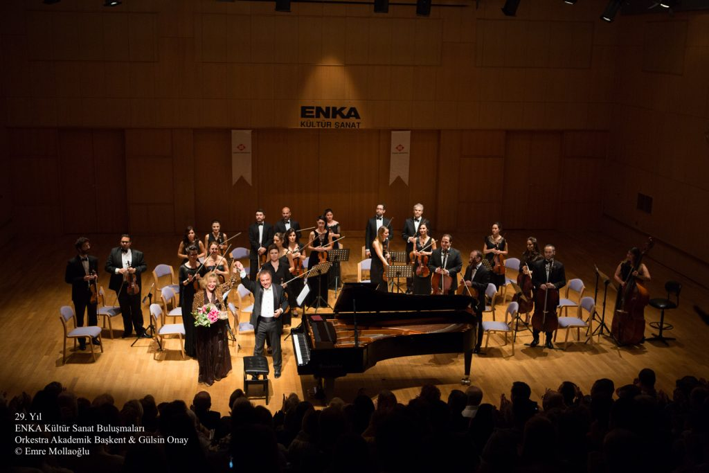 Orkestra Akademik Başkent & Gülsin Onay